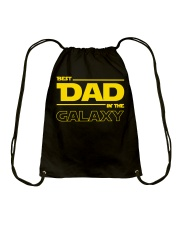 Best Dad in The Galaxy Slim Fit T-Shirt Drawstring Bag thumbnail