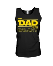 Best Dad in The Galaxy Slim Fit T-Shirt Unisex Tank thumbnail