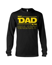 Best Dad in The Galaxy Slim Fit T-Shirt Long Sleeve Tee thumbnail