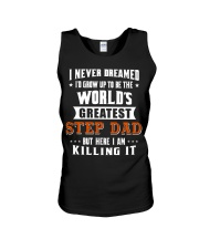 Funny Gifts for Step Dad in Father's Day Birthday Unisex Tank thumbnail