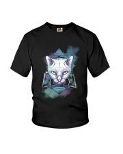 Cat Mystery Youth T-Shirt thumbnail