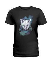 Cat Mystery Ladies T-Shirt thumbnail
