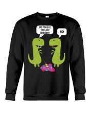 Did you eat the last unicorn T-Rex Dinosaur Crewneck Sweatshirt thumbnail