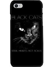 Black Cat Phone Case thumbnail