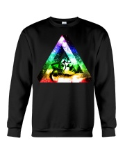 Rainbow Triangle Cat Crewneck Sweatshirt thumbnail