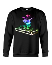 HOUSE CAT - Rainbow DJ Kitty Crewneck Sweatshirt thumbnail