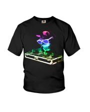HOUSE CAT - Rainbow DJ Kitty Youth T-Shirt thumbnail
