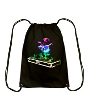 HOUSE CAT - Rainbow DJ Kitty Drawstring Bag thumbnail
