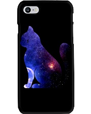 Cat imagine the universe Phone Case thumbnail