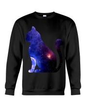 Cat imagine the universe Crewneck Sweatshirt thumbnail