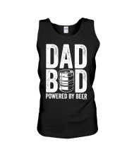 Dad Bod Powered By Beer Slim Fit T-Shirt Unisex Tank thumbnail
