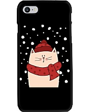 Cat with scarf Phone Case thumbnail