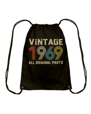 50th Birthday Gift Vintage 1969 T-Shirt Men Women Drawstring Bag thumbnail