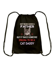 Cat Daddy is truly awesome Father Drawstring Bag thumbnail