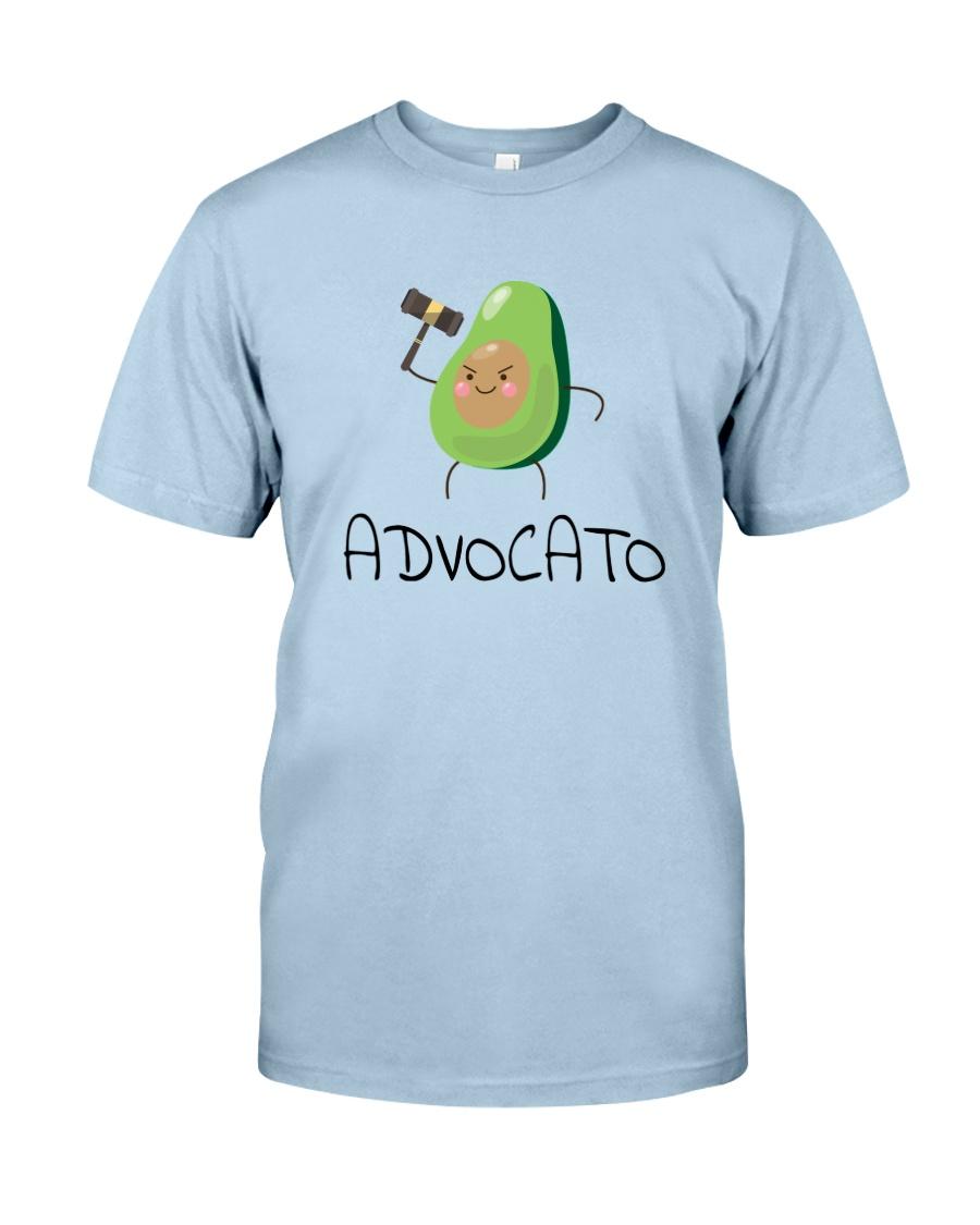 Avocado Lawyer Shirt Classic T-Shirt