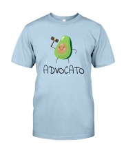 Avocado Lawyer Shirt Classic T-Shirt front