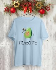 Avocado Lawyer Shirt Classic T-Shirt lifestyle-holiday-crewneck-front-2
