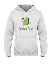 Avocado Lawyer Shirt Hooded Sweatshirt thumbnail