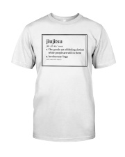Jiujitsu  Premium Fit Mens Tee tile