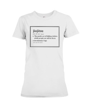 Jiujitsu  Premium Fit Ladies Tee tile