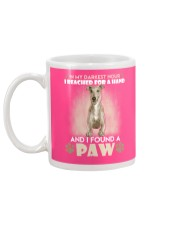GREYHOUND Mug back