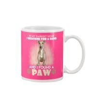GREYHOUND Mug front