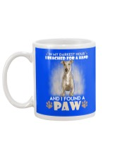 GREYHOUND Mug back