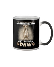 GREYHOUND Color Changing Mug tile