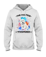 MALTESE Hooded Sweatshirt front