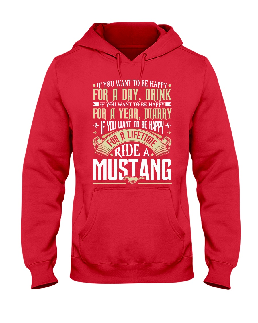 MSTANG Hooded Sweatshirt