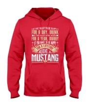 MSTANG Hooded Sweatshirt front