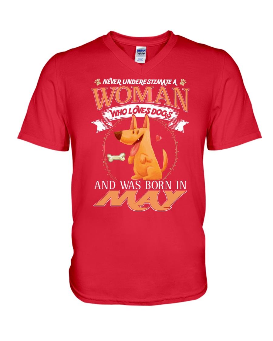Dog V-Neck T-Shirt