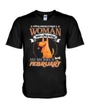 DOG V-Neck T-Shirt thumbnail