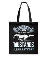 MSTANG Tote Bag front