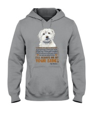 Maltese Hooded Sweatshirt front