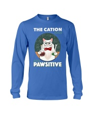 CAT Long Sleeve Tee front