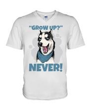 HUSKY V-Neck T-Shirt thumbnail