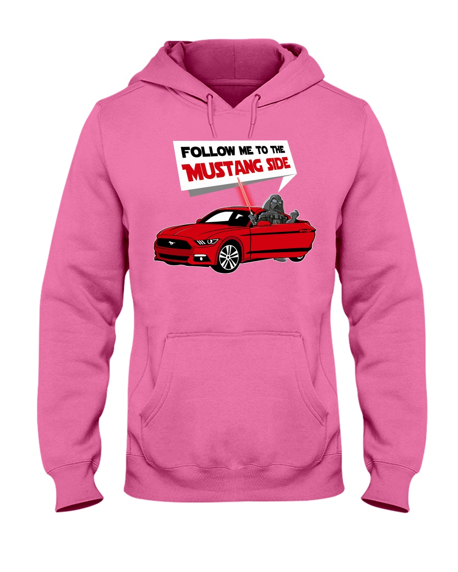 MSTANG Hooded Sweatshirt showcase