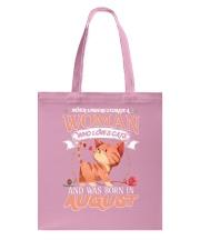 CAT Tote Bag front