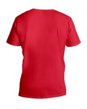 Dog V-Neck T-Shirt back