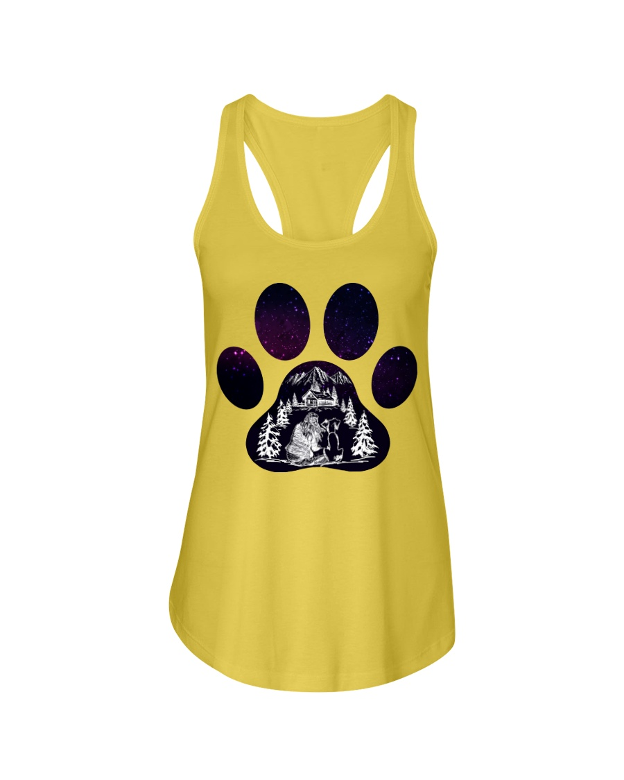 DOG Ladies Flowy Tank