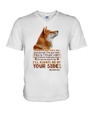 Shiba V-Neck T-Shirt thumbnail
