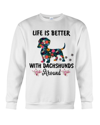 Life is better with Dachshund around