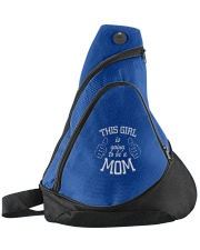 The girl is going to be a mom Sling Pack front