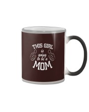 The girl is going to be a mom Color Changing Mug thumbnail