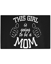 The girl is going to be a mom Rectangle Cutting Board thumbnail
