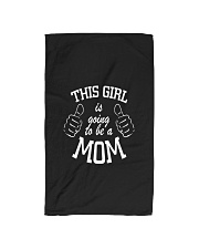 The girl is going to be a mom Hand Towel thumbnail