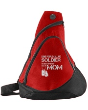Soldier mom Sling Pack front