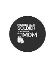 Soldier mom Circle Cutting Board thumbnail