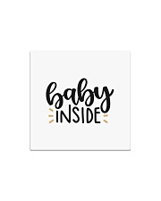 Baby inside Square Magnet thumbnail